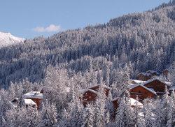 Panorama ve francouzských Alpách