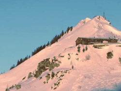 Lyžařské středisko Berchtesgeden v Německu