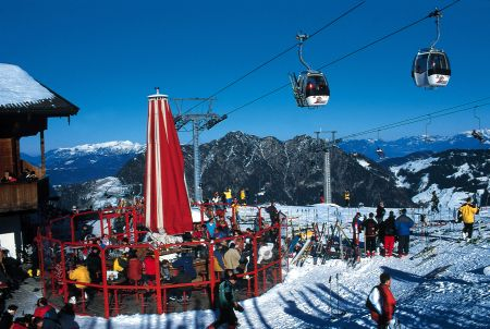 Lyžařská oblast Alpbachtal / Wildschönau - fotografie