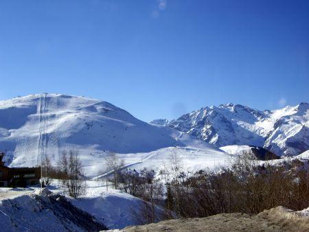 Lyžařská oblast Alpe d'Huez - fotografie