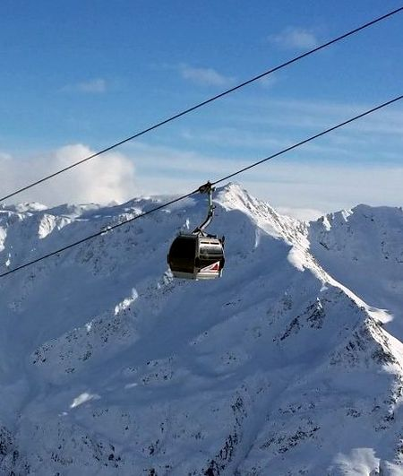 Lyžařská oblast Alta Badia - fotografie