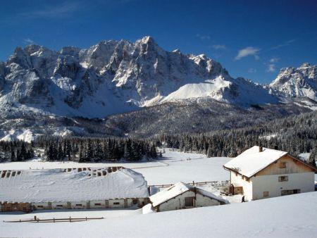 Lyžařská oblast Alta Pusteria / Hochpustertal - fotografie