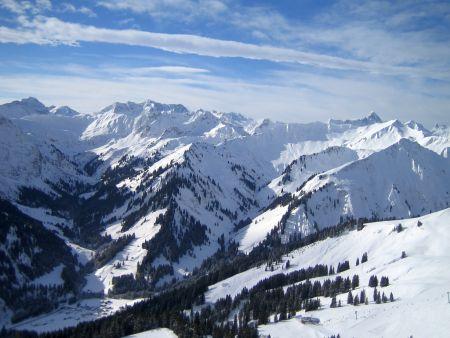 Lyžařská oblast Bad Hindelang a Mittelberg - fotografie