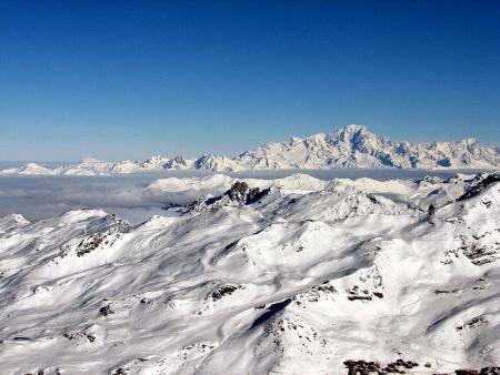 Lyžařská oblast Chamonix (Mont Blanc) - fotografie