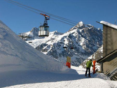 Lyžařská oblast Val d'Aosta / Aostal - fotografie
