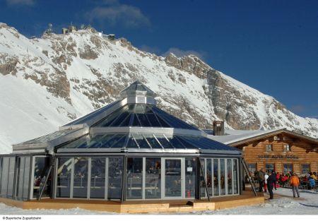 Lyžařská oblast Garmisch - Partenkirchen / Zugspitze - fotografie