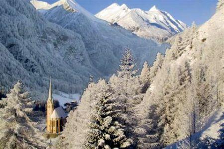 Lyžařská oblast Heiligenblut - fotografie