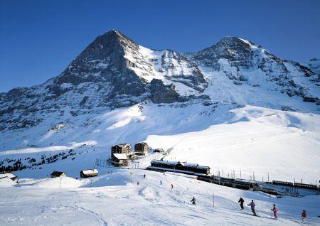 Lyžařská oblast Jungfrau, Eiger, Mönch Region - fotografie