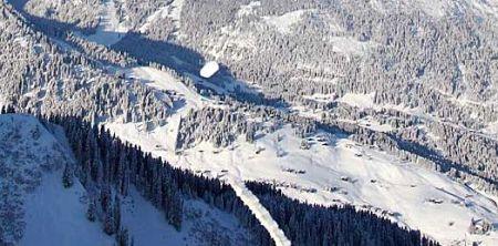 Lyžařská oblast Klostertal - fotografie