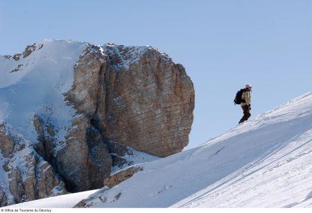 Lyžařská oblast Le Grand Bornand - fotografie