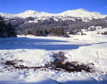 Lyžařská oblast Lenzerheide - Valbella - fotografie