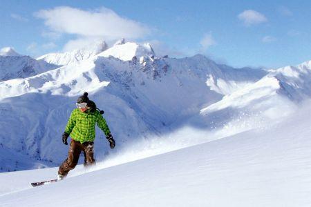 Lyžařská oblast Les Arcs - fotografie