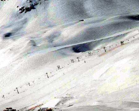 Lyžařská oblast Les Orres - fotografie