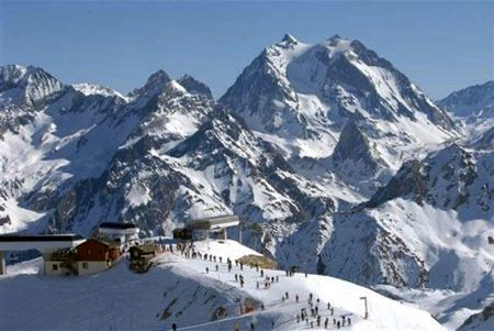 Lyžařská oblast Les 3 Vallées (Tři údolí) - fotografie