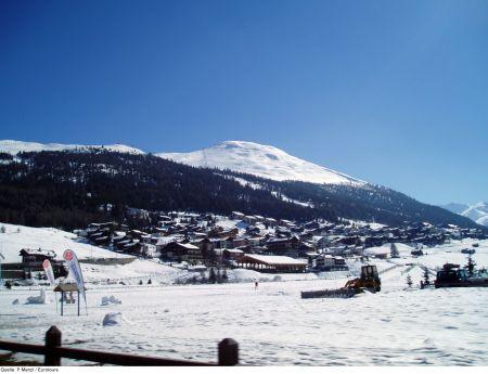 Lyžařská oblast Livigno - fotografie