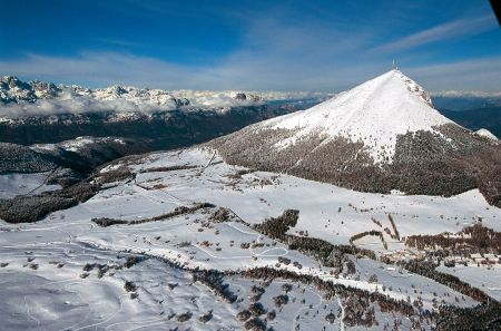 Lyžařská oblast Monte Bondone - fotografie
