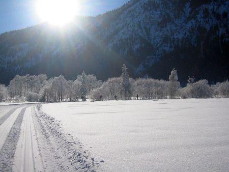 Lyžařská oblast Oberammergau - fotografie