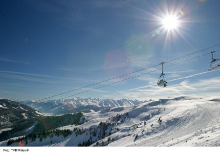 Lyžařská oblast Oberpinzgau - fotografie