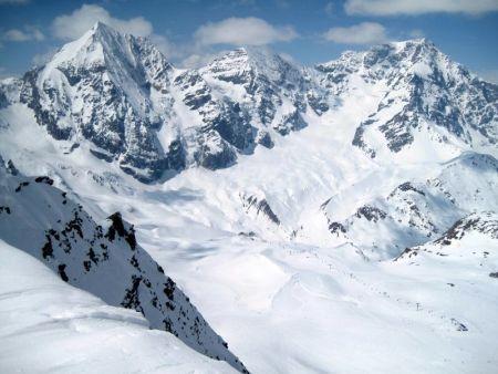 Lyžařská oblast Ortlerské Alpy - fotografie