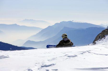 Lyžařská oblast Sestriere / Via Lattea - fotografie