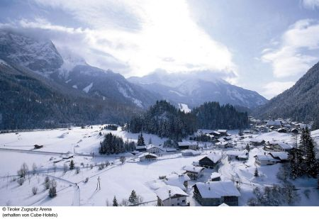Lyžařská oblast Tiroler Zugspitz Arena - fotografie