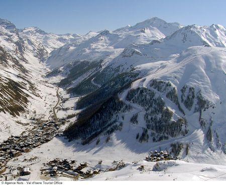 Lyžařská oblast Val d'Isere / Tignes - fotografie
