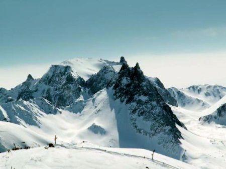 Lyžařská oblast Valmeinier - Valloire - fotografie