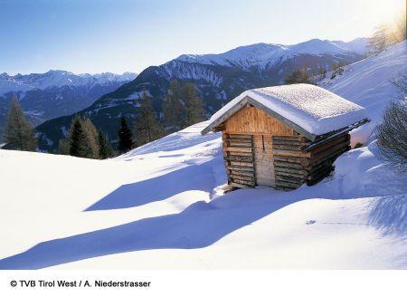 Lyžařská oblast Serfaus - Fiss - Ladis / Venetregion - fotografie