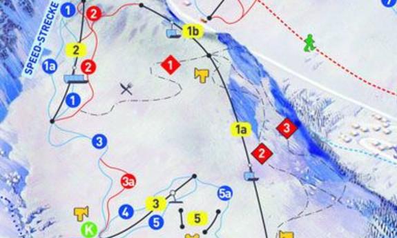 Náhled skimapy areálu Faschina - Fontanella