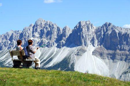 Lyžařské středisko Bressanone / Brixen in Südtirol - fotografie