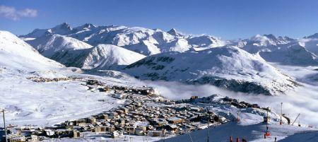 Lyžařské středisko Alpe d´Huez - fotografie
