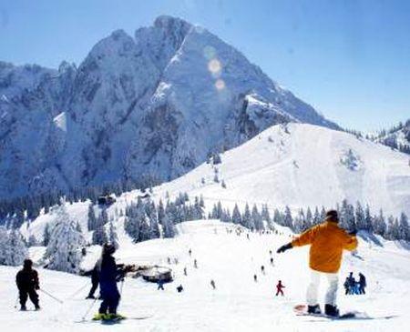 Lyžařské středisko Annaberg - fotografie