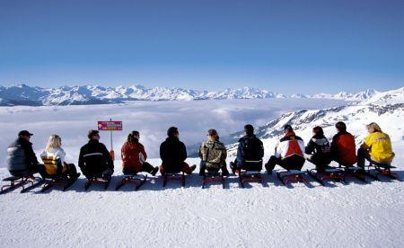 Lyžařské středisko Anzére - fotografie
