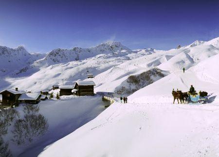 Lyžařské středisko Arosa - fotografie