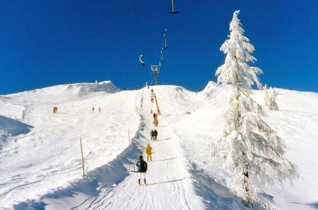 Lyžařské středisko Au - fotografie