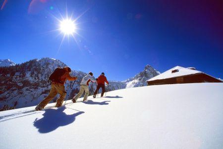 Lyžařské středisko Axalp - fotografie