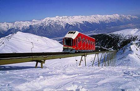 Lyžařské středisko Axams - fotografie