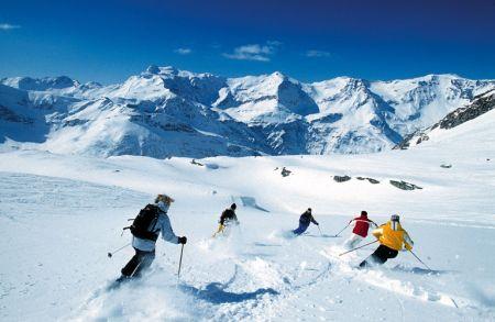 Lyžařské středisko Bad Gastein - fotografie