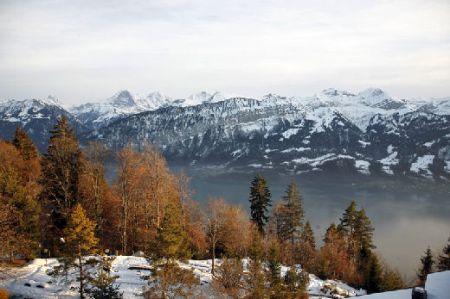 Lyžařské středisko Beatenberg - fotografie