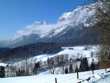 Lyžařské středisko Berchtesgaden - fotografie