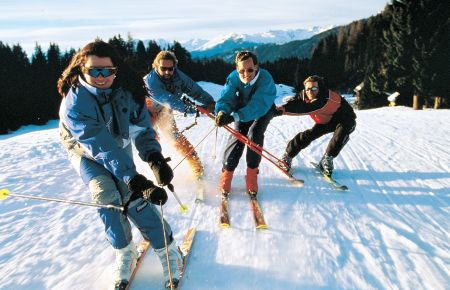 Lyžařské středisko Berg bei Rohrbach - fotografie
