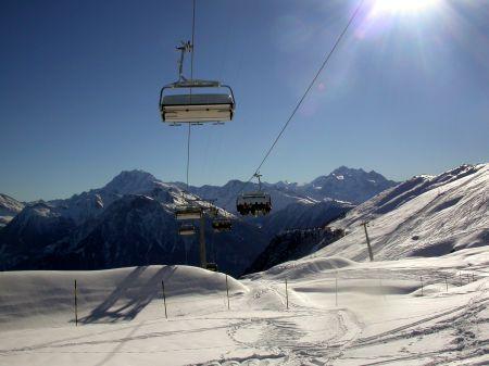 Lyžařské středisko Blatten - Belalp - fotografie
