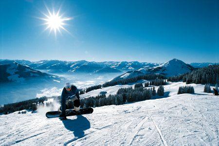 Lyžařské středisko Brixen im Thale - fotografie