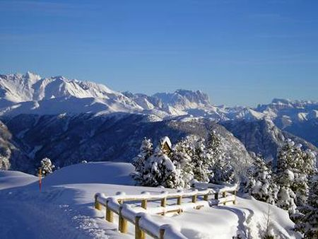 Lyžařské středisko Cavalese - fotografie