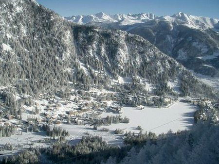 Lyžařské středisko Champex - fotografie