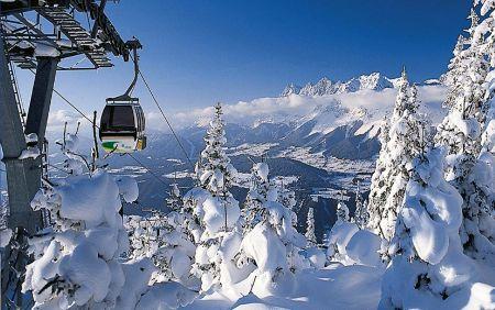Lyžařské středisko Cortina d'Ampezzo - fotografie