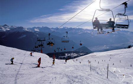 Lyžařské středisko Crans Montana - fotografie