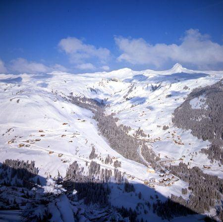 Lyžařské středisko Damüls - fotografie
