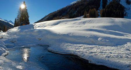 Lyžařské středisko Davos - fotografie