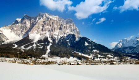 Lyžařské středisko Ehrwald - fotografie